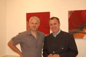 Bild zu Vernissage Peter Ledolter